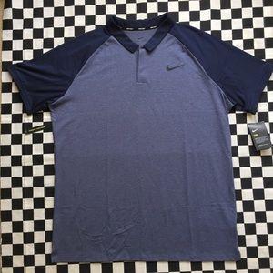 Nike drifit golf polo (XL)